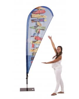 Beachflag Fieberglas Drop