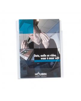 Prospekthalter Acryl - DIN A4